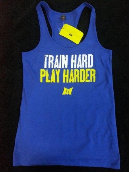 Train Hard Play Hard Tank Top
