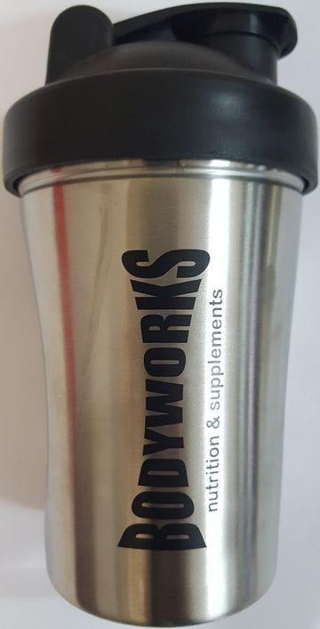Bodyworks Stainless Steele Protein Shaker