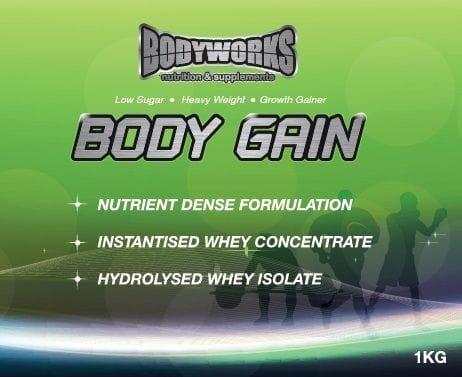 1kg Body Gain Protein