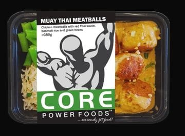 Core Power Foods - Muay Thai Meatballs