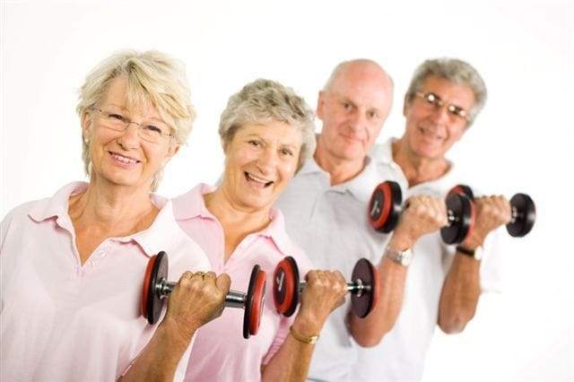 Seniors Resistance Group Training Sessions