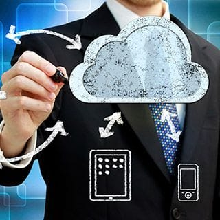 Automated cloud or off-site backup services for on-site systems