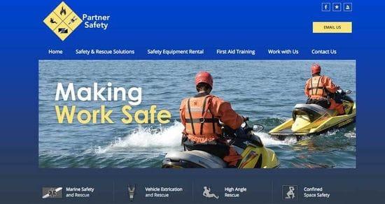 A New, Branded Website for Partner Safety