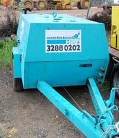 Air Compressor - Diesel (88cfm sullair)