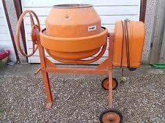 Concrete Mixer - Electric (240v)
