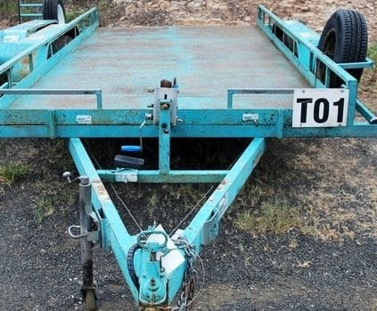 Car Trailer 6ft x 14ft !