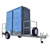 Towable Toilet & Shower