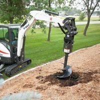 Excavator Posthole Digger