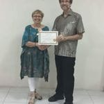 Yvette's Graduation - Resource Therapy Train The Trainer - Bali June 2016