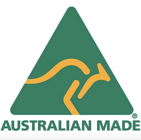 Australian Made Logo   Grandad Pat's Wooden Ruler Heigt Charts Australia   Personalised Growth Charts Perth   My Family Rulers