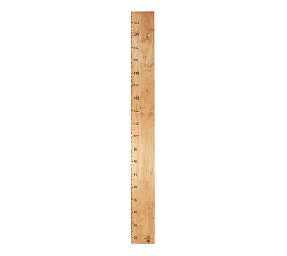 Classic Numbers Only Height Chart
