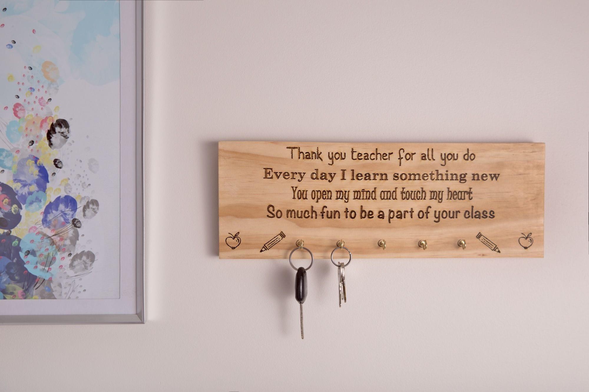Teacher Key Hanger