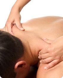 male getting a body massage Salon Secrets