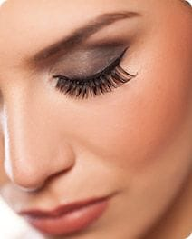 long, fake eye lashes, female Salon Secrets