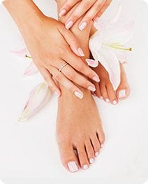 Pedicures and manicures Salon Secrets