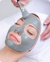 Signature facials, girl getting facial Salon Secrets