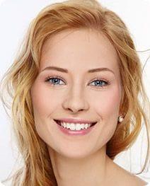 Girl smiling, skin needling IPL Hair Removal Salon Secrets