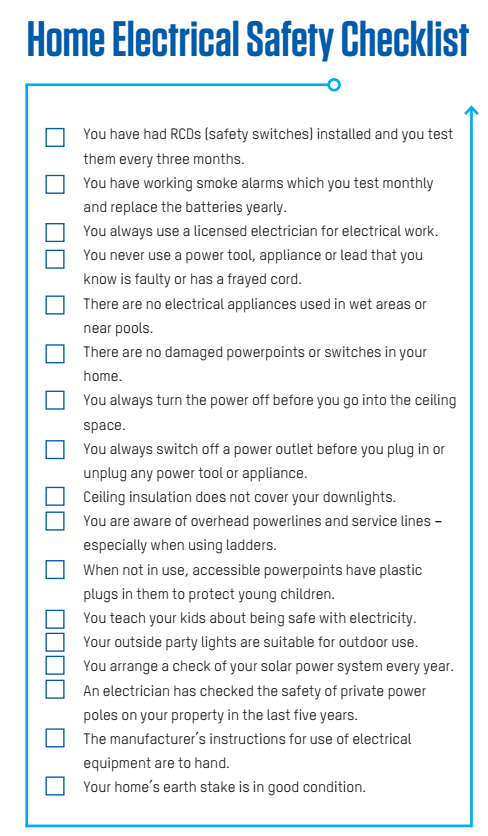 electrical safety tips for home and office