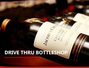 Drive through bottleshop in Ormeau