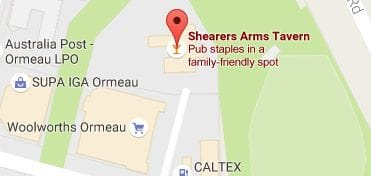 Shearers Arms Tavern in Ormeau, QLD