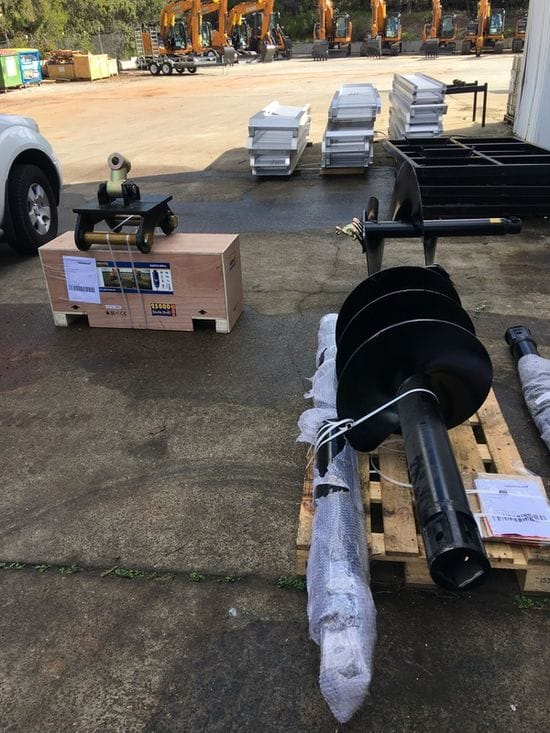 Another Auger Torque Attachment Delivered To A Happy Customer!