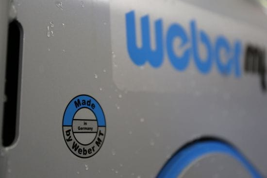 Weber MT Range is German Made, German Tough
