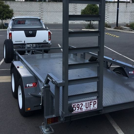 FWR Plant Trailer Delivery