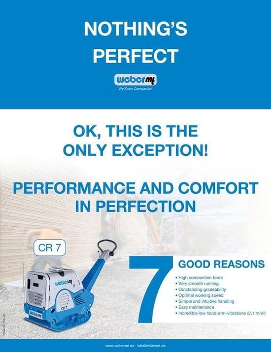 7 Good reasons we love the Weber MT CR7...