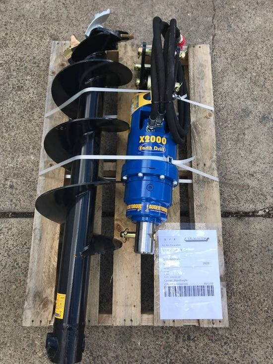 X2000 Earth Drill to RL Mini Diggers