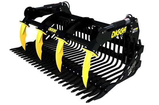Digga 1900mm Skid Steer Rock Bucket