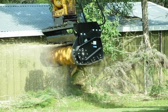 """915mm (36"""") Magnum Mulcher - Excavator"""