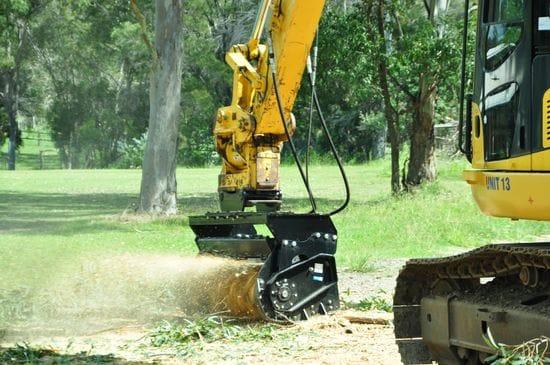 """1520mm (60"""") Magnum Mulcher - Excavator"""