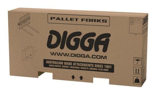 Digga Pallet Forks 1500kg