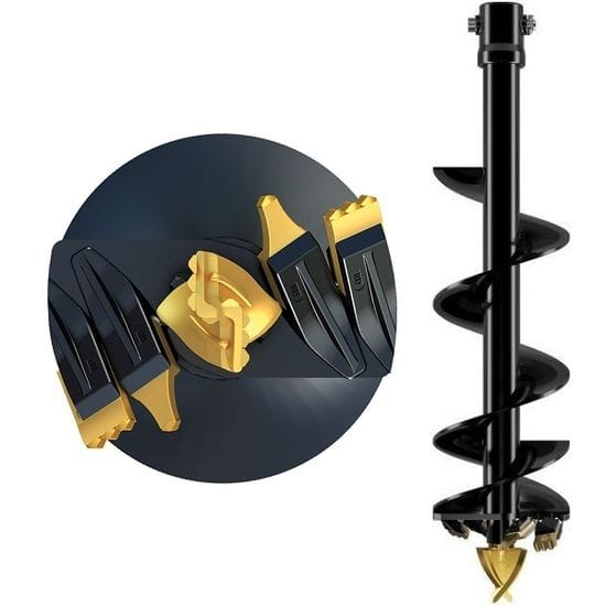 200mm Tungsten - 65mm Rnd Hub