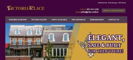 Victoria Place Website Launch