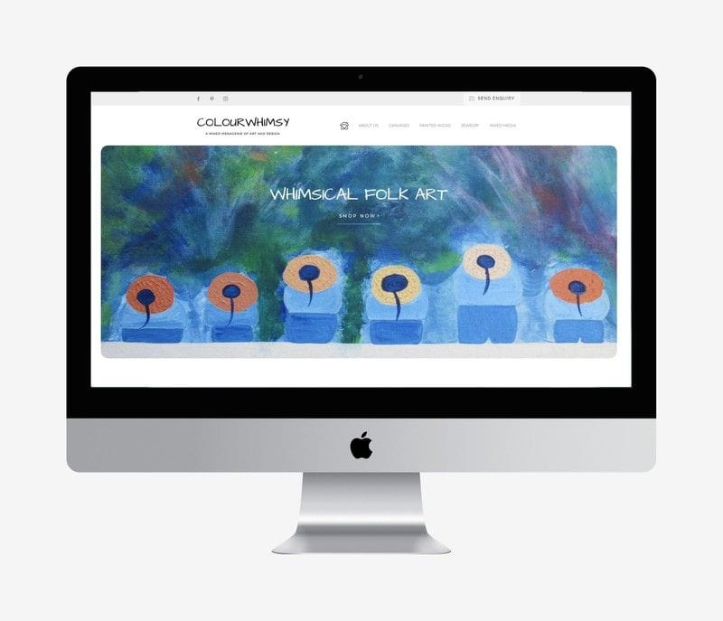Colour Whimsy Website Launch