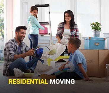 Happy Residential Move Customers