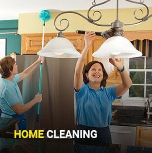 Let us clean your home before or after your move