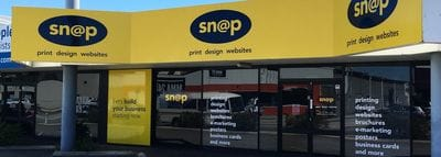 B2B Service Franchise Opportunity Snap Print Design Web