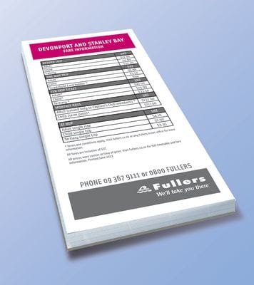 Branded Notepads printing