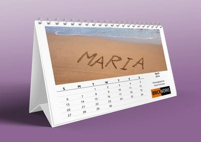 Impress your customers by giving them a personalised desktop calendar. Snap has a library of images you can choose from. & Professional Calendars | Custom Corporate and Personal Calendars