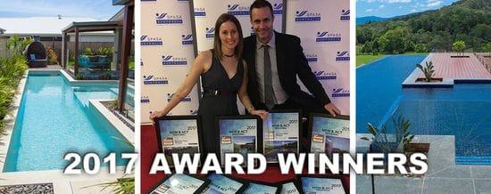 2017 Multi Award Winning Pool Builder