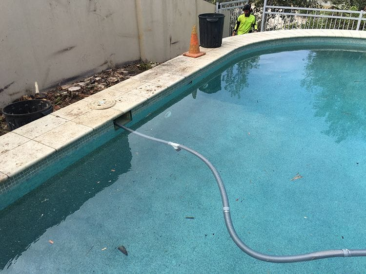 Pool Before Renovation