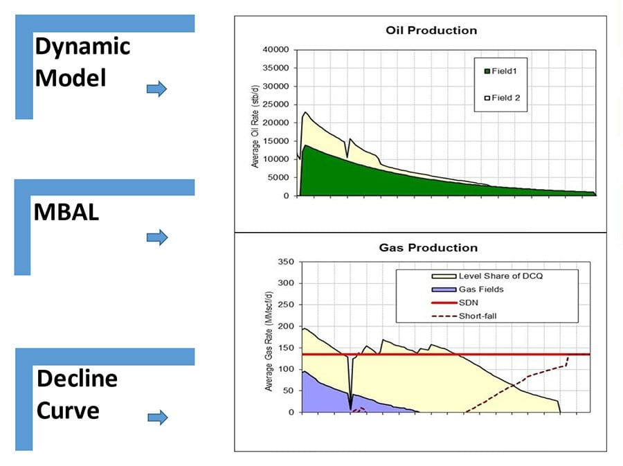 Neon-Blu Oil & Gas Consulting Production Forecasting