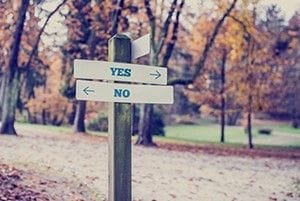 When to say no - See the world through your customers' eyes