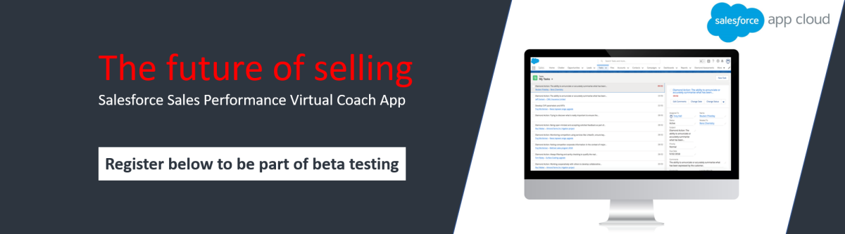 Sales performance virtual coach