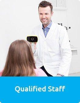 Qualified Staff at Masons Eyecare