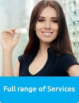 Masons Eyecare have a full range of services