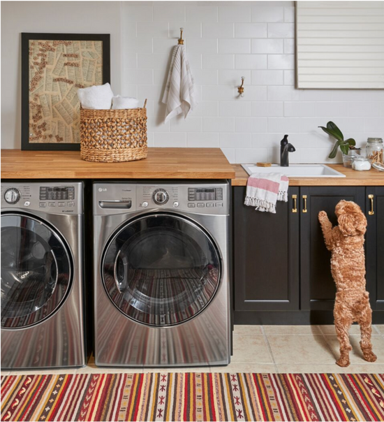 My Crafty Laundry Room Makeover