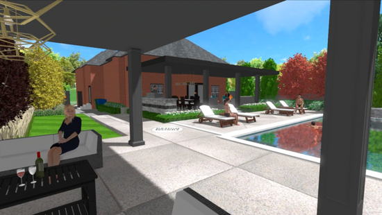 New Tech for Outdoor Living: 3D Virtual Tours